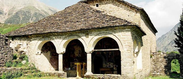 Αποτέλεσμα εικόνας για Το μοναστήρι του Αγίου Γεωργίου Μυροφύλλου Τρικάλων